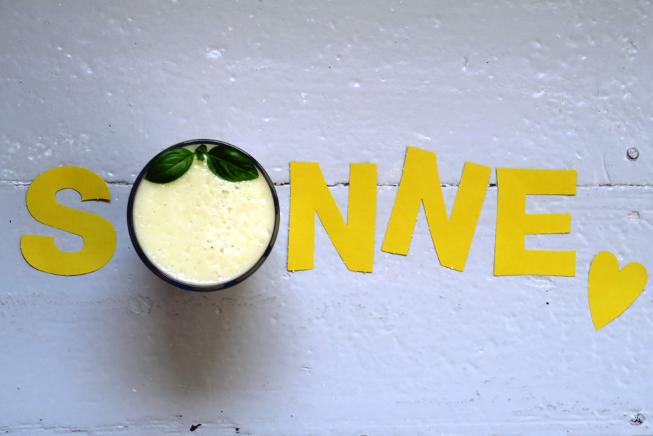 Melone-Banane-Smoothie