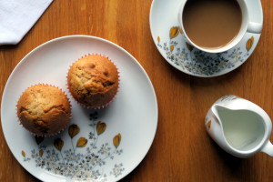 Bananen-Muffins als halbwegs gesunder Süßkram-Ersatz