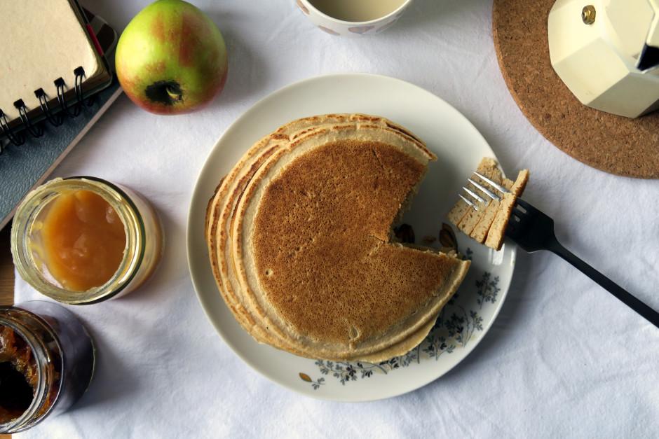 Pancakes mit Buchweizen