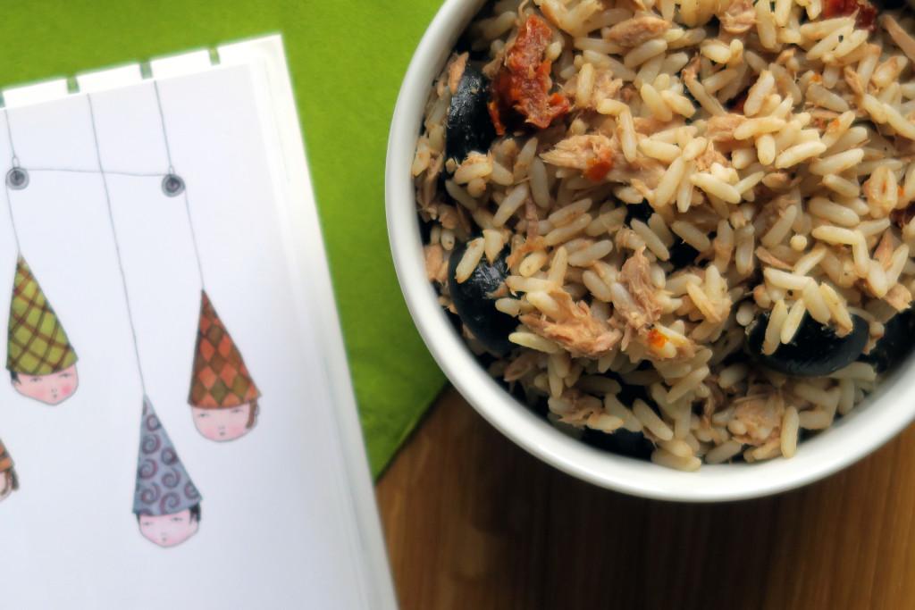 Super nach einem Run: der Thunfisch-Reis-Salat