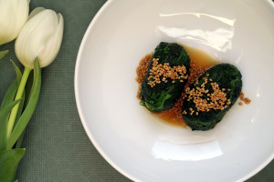 Popeye würde ihn lieben, den japanisch zubereiteten Spinatsalat