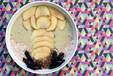 Banane-Minz-Smoothie