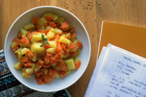Comfy food: Kartoffel-Möhren-Eintopf