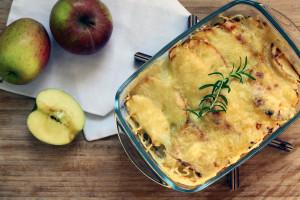 Apfel-Chicoree-Auflauf