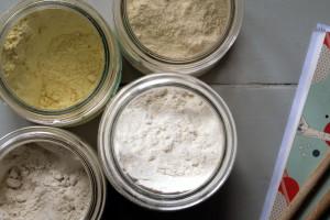 helle Mehlmischung für Hefeteige