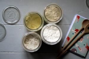Mehlmischung für helles Brot