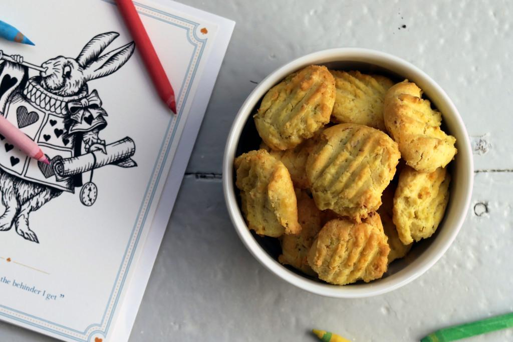 Zitronengras-Cookies passen hervorragend in den Frühling!