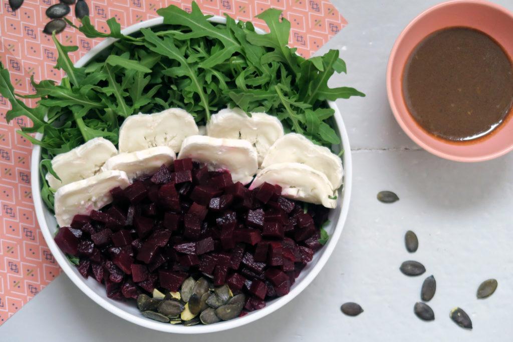 Balaststoffe, Proteine und Vitamine - der Rote Bete Salat versorgt euch mit dem Besten!