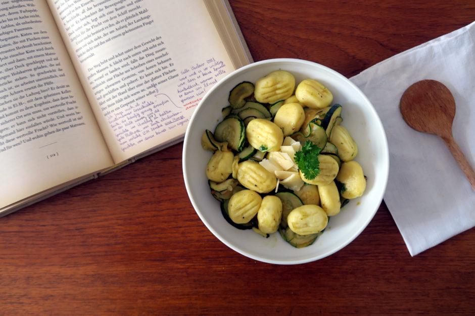 Bella italia auf meinem Teller: Gnocchi mit Zucchini