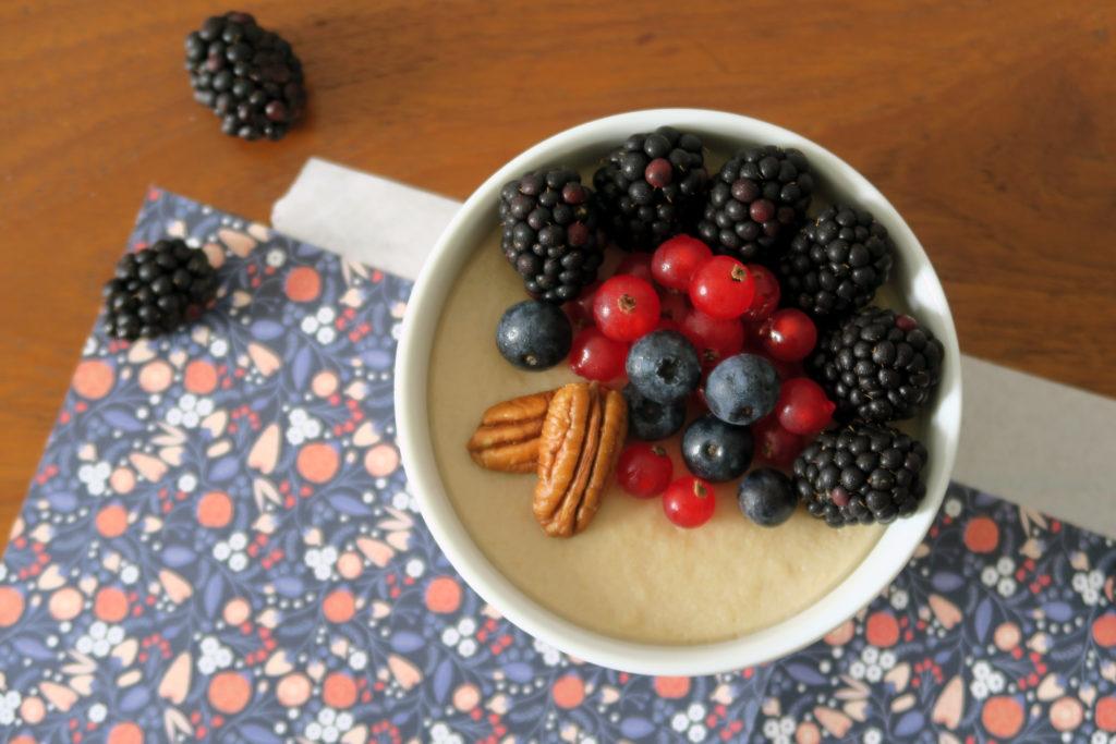 Es muss ja nicht immer die übersüßte Variante aus dem Supermarkt sein. In nur wenigen Minuten könnt ihr euch euren eigenen leckeren Zimt-Pudding zaubern.