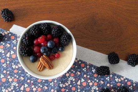 Zimt-Pudding ist zur Zeit mein Lieblingsnachtisch. :-)