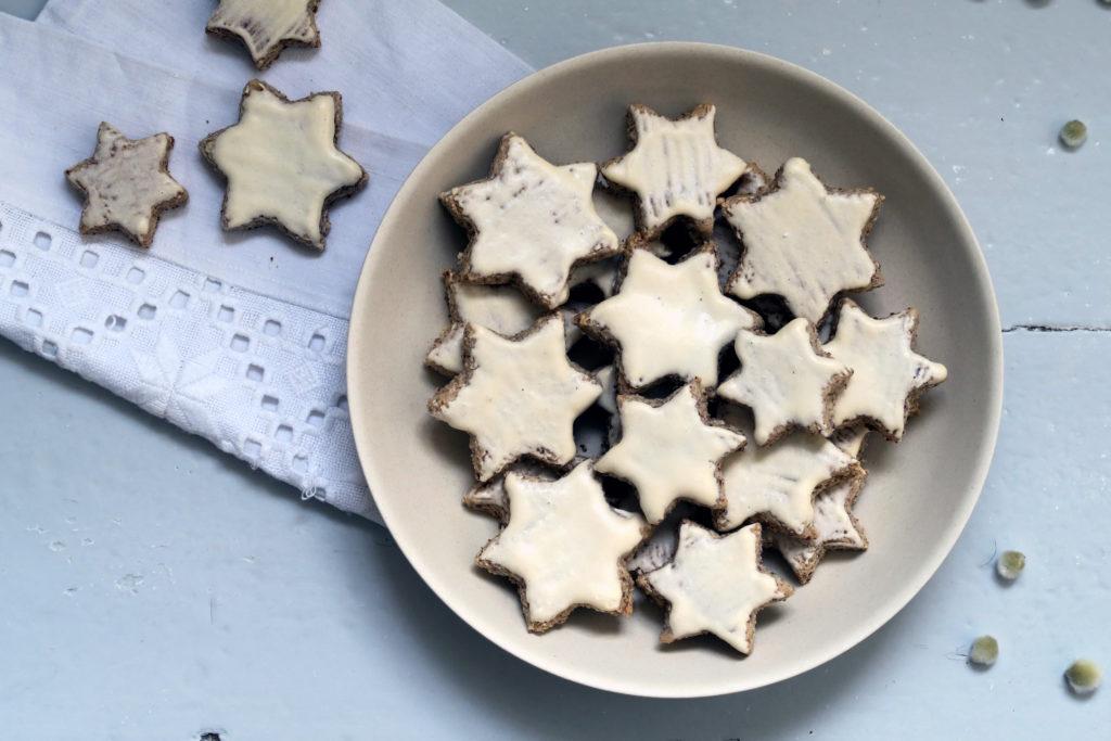 Moah, Zimtsterne sollten auf jedem Weihnachts-Keks-Teller liegen.