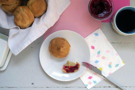 glutenfreier Frühstücksmuffin