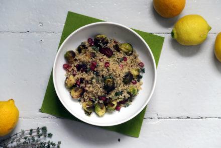 Quinoa-Rosenkohl-Salat