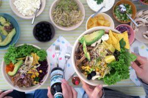 Gute Freunde, tolles Wetter und leckeres Essen - die Pulled Port Party wird ganz bestimmt wiederholt!