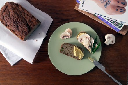 Ein leckeres, glutenfreies und veganes Zucchinibrot