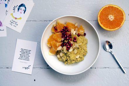 Kurkuma-Porridge