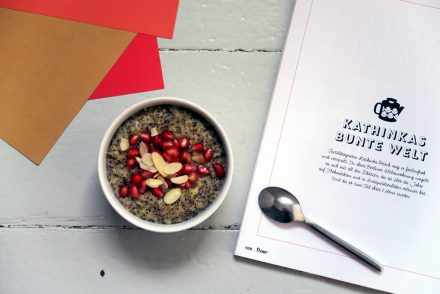 Wirklich lecker, dieser glutenfreie und vegane Orange-Mohn-Porridge