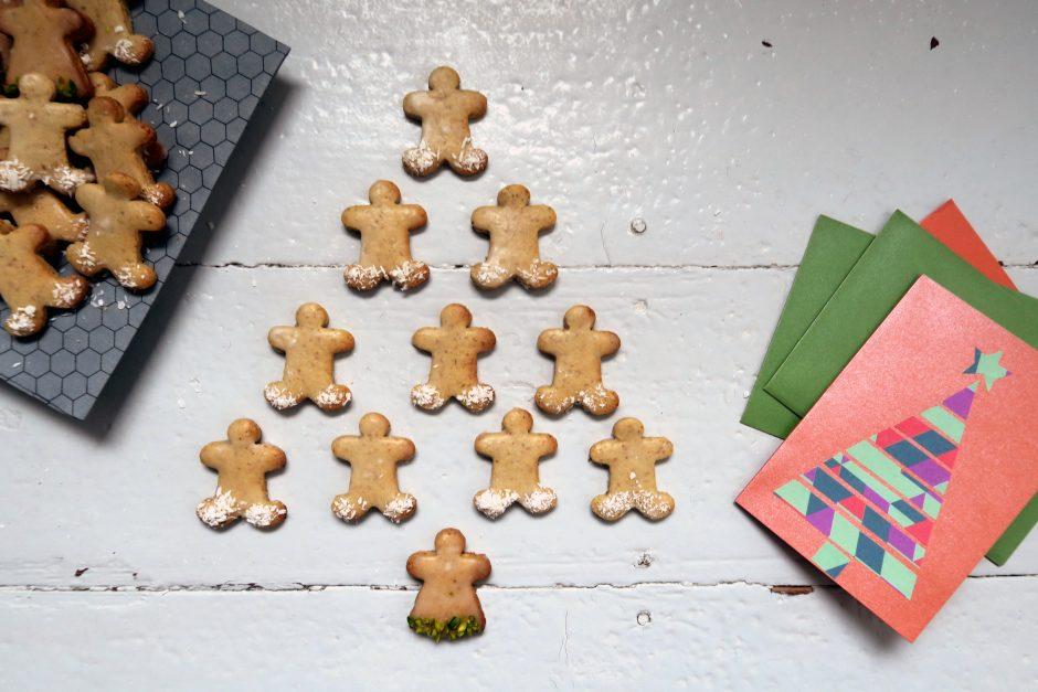Mürbeteigmännchen - vegane und glutenfreie Weihnachtsplätzchen