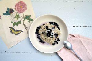 Kokos-Hafer-Porridge